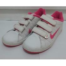 Zapatillas Nike Mujer Blancas Con Abrojos 37.5