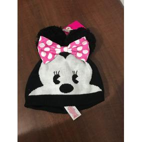 Gorro Invierno Minnie Mouse Original Usa Con Etiqueta