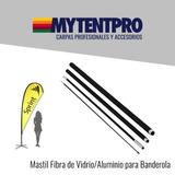 Mastil Fibra De Vidrio- Banderolas Publicitarias Mytentpro