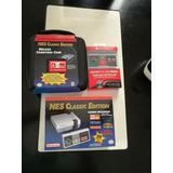 Nes Classic Edition + Deluxe Case + Gamepad Classic