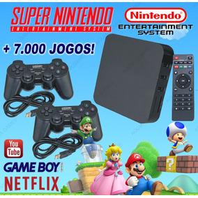Retro Box - Video Game Multijogos +7000 Jogos Antigos +64gb