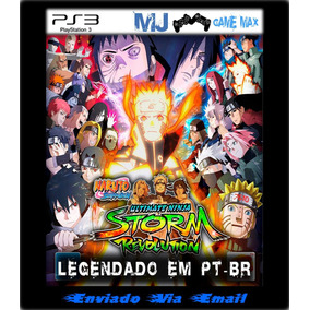Naruto Shippuden:ultimate Ninja S R Leg-pt Ps3 Mídia Digital