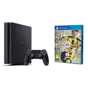Izalo: Playstation 4 Slim 500gb + Fifa 17 + Mp + Local!