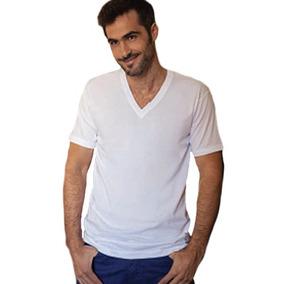 Camiseta Tres Ases Hombre Algodón Cuello Escote V 46 Al 50