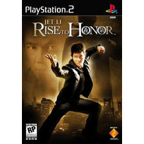 Playstation 2 Jet Li Rise To Honor - Novo- Original- Lacrado