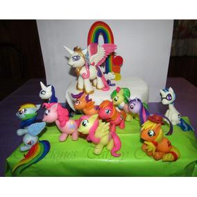 Mi Pequeño Pony Souvenirs Porcelana Fria My Little Pony Tort