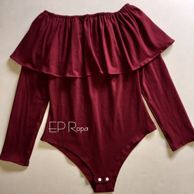 Blusa Body Campesina Bolero Licrado Bodies Moda Envío Gratis