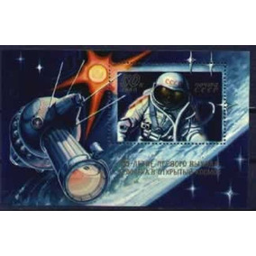 As002 Russia - Estacao Espacial Astronauta