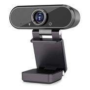 Camera Webcam Com Microfone Alta Resolução Full Hd 1080p