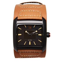 Relógio Masculino Quiksliver Sequence Camel Black