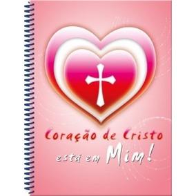 Caderno Evangélico Gospel Jesus, Coração De Cristo #4598