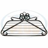 Paneleiro De Teto Rustico Prateleira Para Frios Pt90