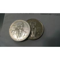 Monedas De Plata Ley .720 Plata Pura Precio Por Pieza
