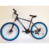 Bicicleta Greco Vulkan X Rin 26 Con Freno De Disco