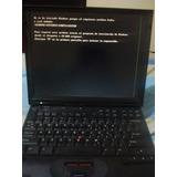 Laptop Ibm Thinkpad 600x Pentium 3 Para Repuesto