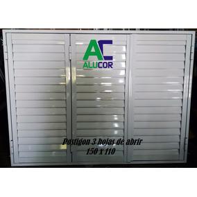 Postigon De Aluminio 150 X 110