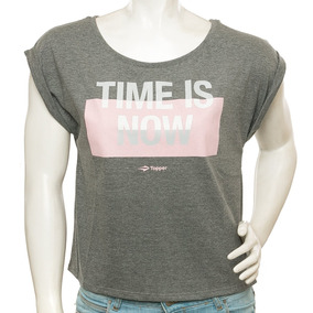 Remera Time Is Now Topper Sport 78 Tienda Oficial