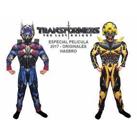Disfraz Transformers Bumblebee/optimus Prime Musculos Origin