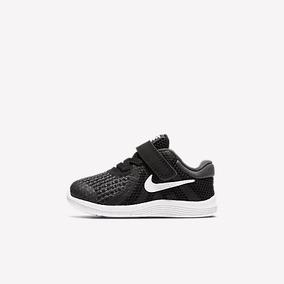 Tenis Nike Revolution Negro Bebé 12-16 Originales