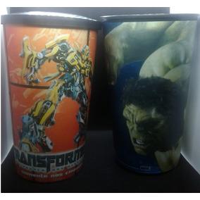 Copos Cinema Hulk Marvel Vingadores E Transformers