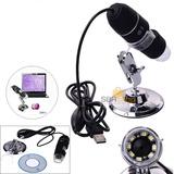 Microscópio Digital Usb 500x Hd Lupa Eletrônicos Pc