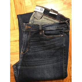 Jean Abercrombie & Flitch Skinny Talle Usa 12 T 31