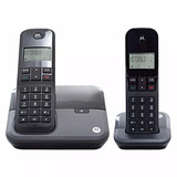 Telefone Sem Fio Motorola Moto 3000+ 1 Ramal Frete Gratis