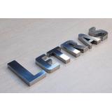 Letras E Números Logo 3d Letreiro De Fachadal Aço Inox