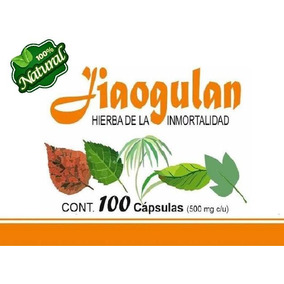 Jiaogulan (gynostemma) Sus Beneficios Envio Gratis 200 Caps