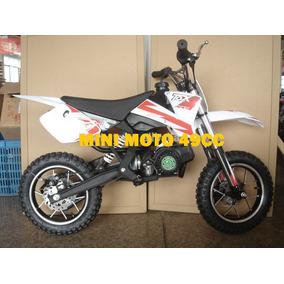 Mini Motocross 49cc Partida Rapida A Gasolina Novo
