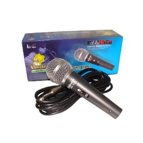 Microfone Videokê Ma-50 Com Fio Original P/pro 950 Wmusic