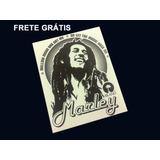 Adesivo Bob Marley Mod. 02 - Frete Grátis