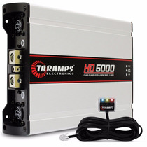 Modulo Taramps 1 Canal Hd-5000 Rms 1 Ohm 2 Ohms Digital Novo