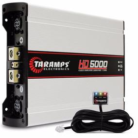 Potencia Automotiva Taramps Hd 5000 Compact 5000 Rms 01 Ohm