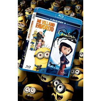 Mi Villano Favorito Y Coraline 2 Blu-ray