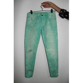 Jean Mujer De Zara -premium-demin Wear, Slim