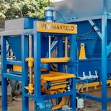 Maquina De Fabricar Blocos De Concreto Penelmatica