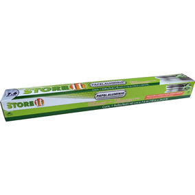 Papel Aluminio 45 Cm X 7.6 M (14 Mic) 82031 Store It