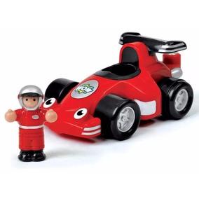 Wow Robbie Racer Personaje Con Auto De Carrera Educando