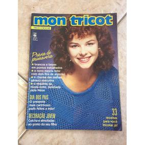 Revista Mon Tricot Primavera Dia Dos Pais Decoração Jovem