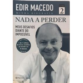 Livro Evangélico Nada A Perder 2 Edir Macedo Livro Físico