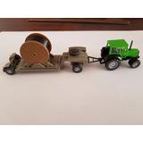 Tractor Y Carro De Arrastre Wiking Escala Ho