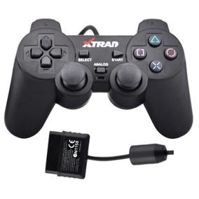 Controle Analógico Ps2 Playstation 2 Xtrad Xd-020