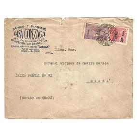 Antiguidade Ceará: Alcides De Castro Santos - Envelope 1931