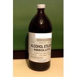 Alcohol Etilico Absoluto. Grado Reactivo. 1 Litro. Appcrom