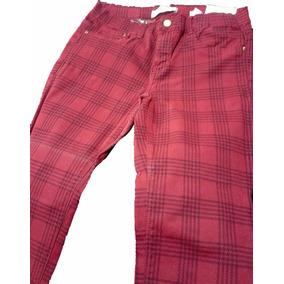 Pantalon Gabardina Cuadros. Importado Zara. Nuevo!!