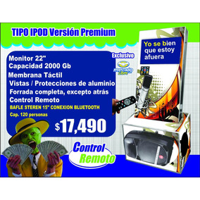 Rockolas Monterrey Linea Premium Dos Partes Desmontable