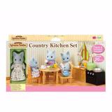 Sylvanian Families Country Kitchen Set (set De Cocina) Intek