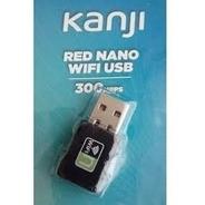 Placa De Red Nano Wifi Usb 300mbps Kanji  (cod 2013)