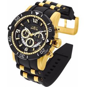 Relógio Invicta Pro Diver 23702 Gold & Black Chronograph